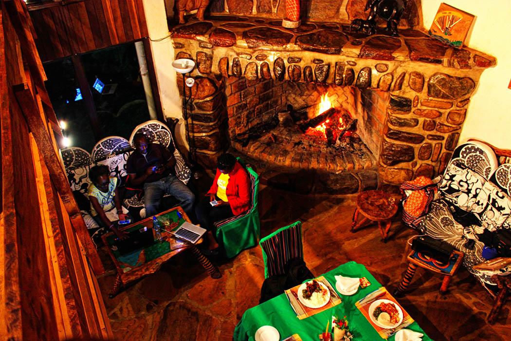 Kerio View Hotel_fireplace2