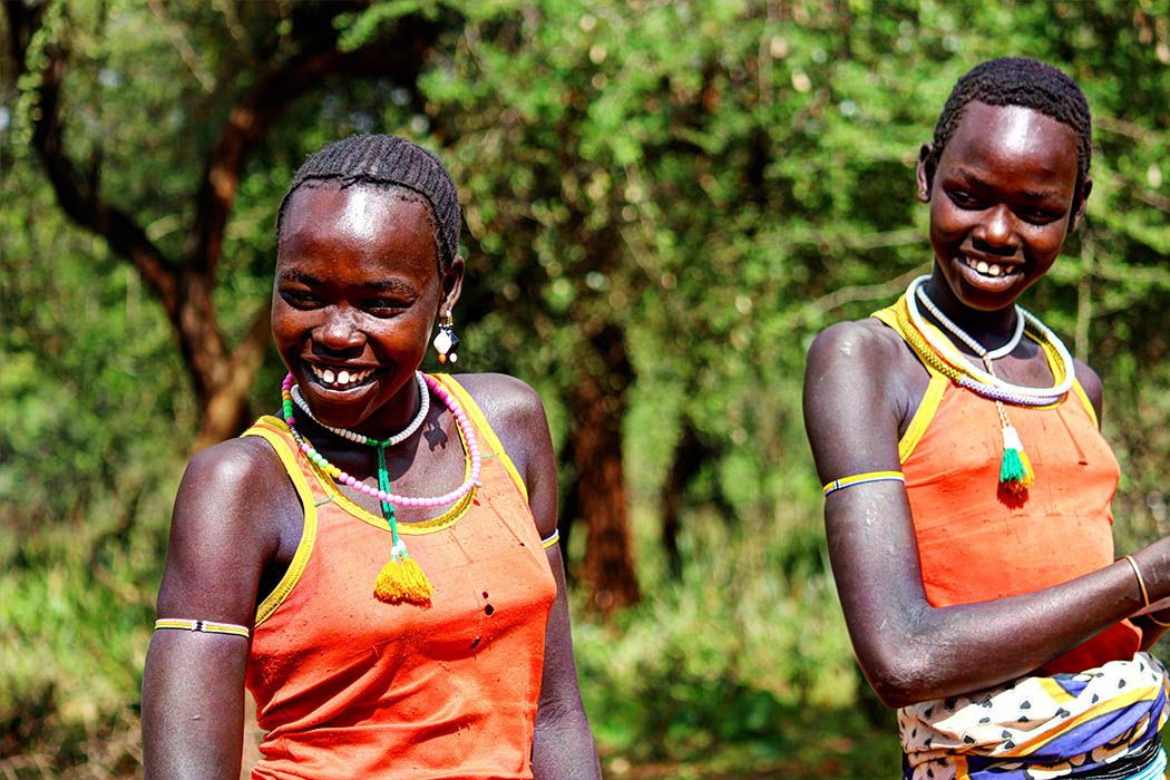 Sights & People from the North Rift_Pokot girls3