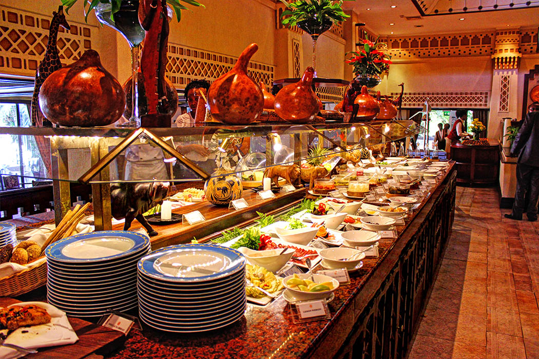 Cafe Maghreb-Buffet layout