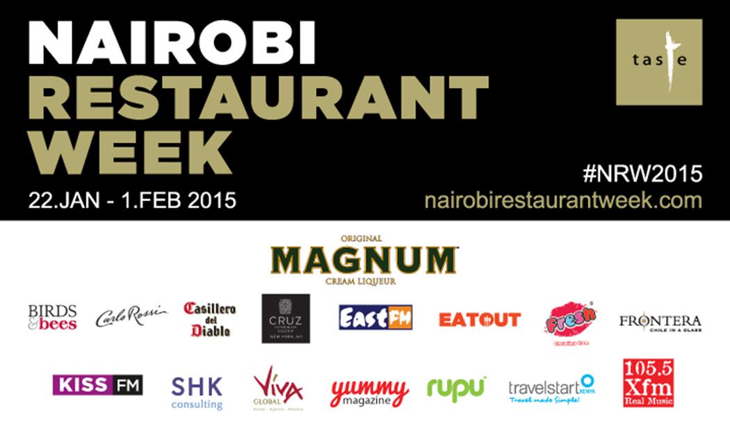 Nairobi Restaurant week banner