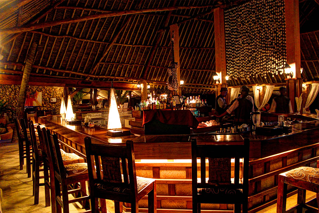 Sands at Nomad restaurant_Beach bar by night