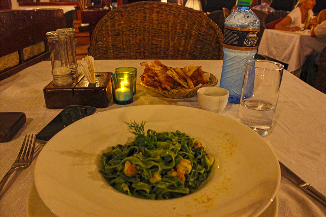 Sands at Nomad restaurant_Pasta