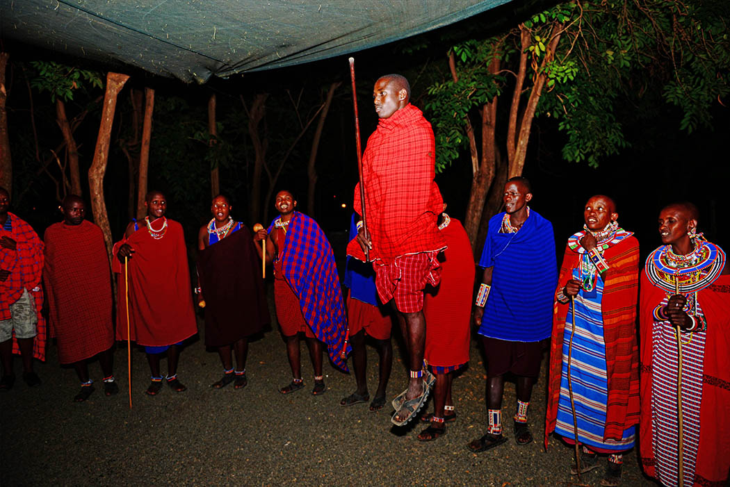 Amboseli Serena Safari Lodge_bush dinner