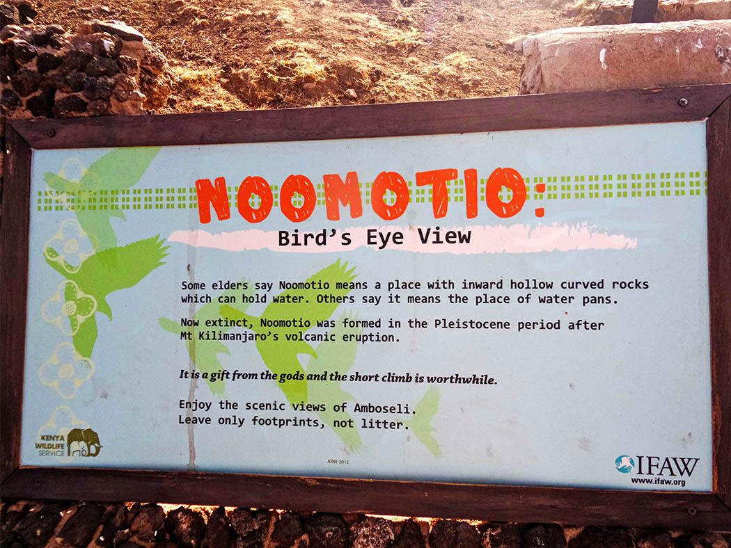 Amboseli Serena Safari Lodge_observation hil1