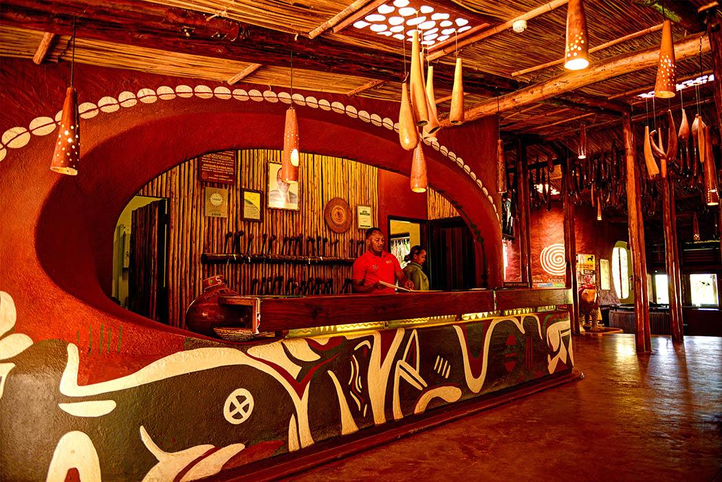 Amboseli Serena Safari Lodge_reception