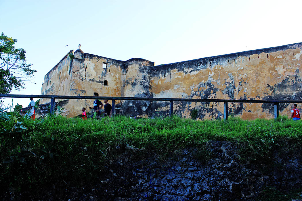 Fort Jesus Mombasa_outside