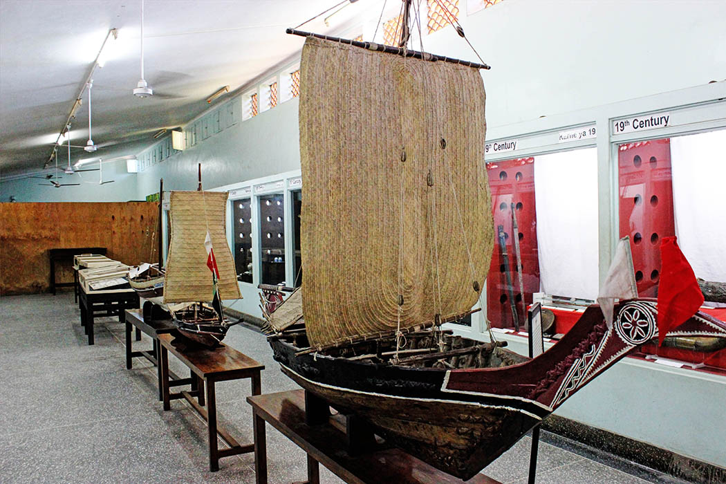 Fort Jesus Mombasa_replica of boat