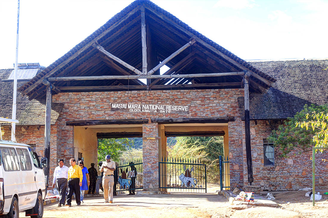 Maasai Mara_ gate