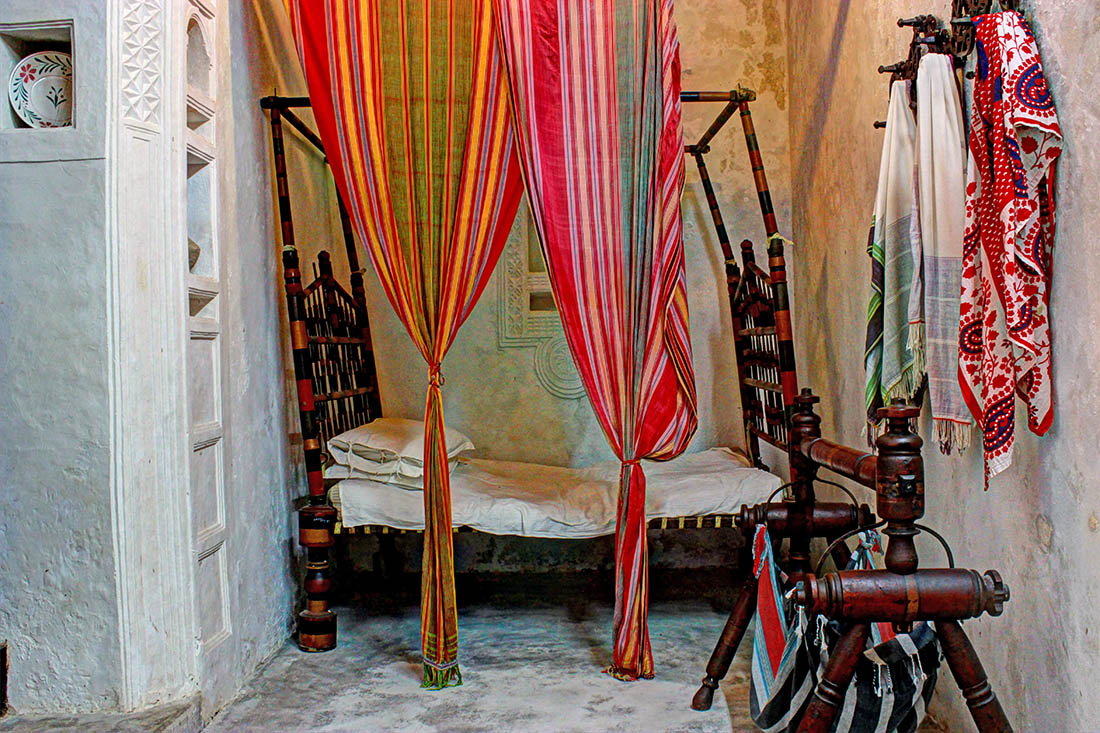 Swahili House Museum_master bedroom