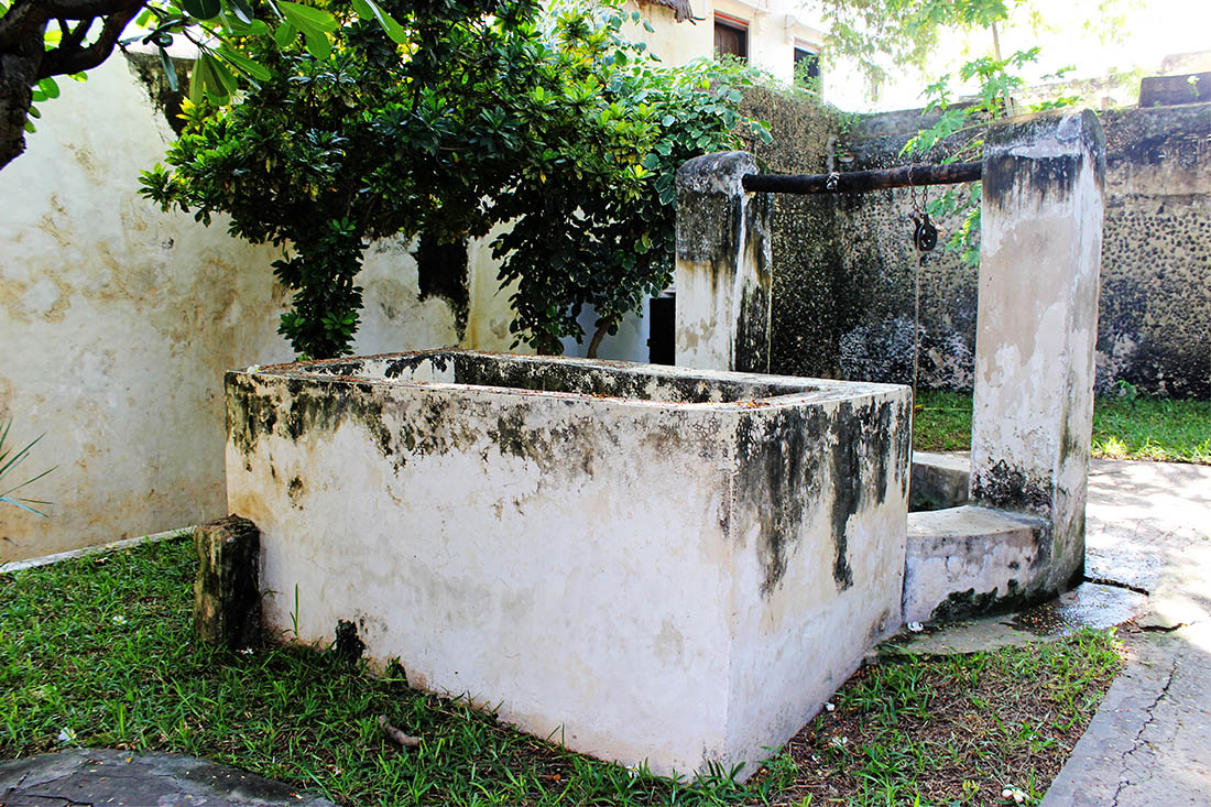 Swahili House Museum_well 2