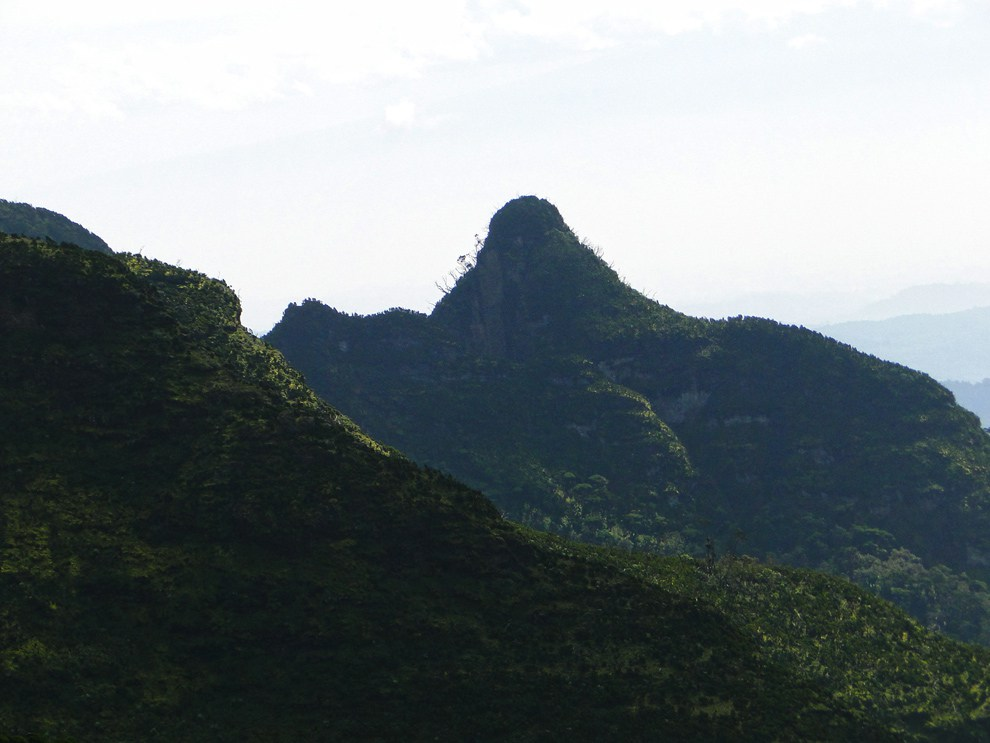 Aberdare National Park_le satima peak