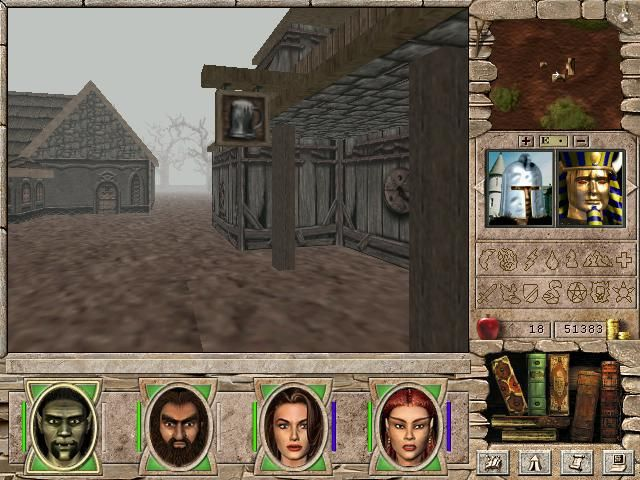 Gameplay Might & Magic 7