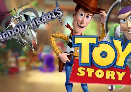 Kingdom Hearts 3 Toy Story