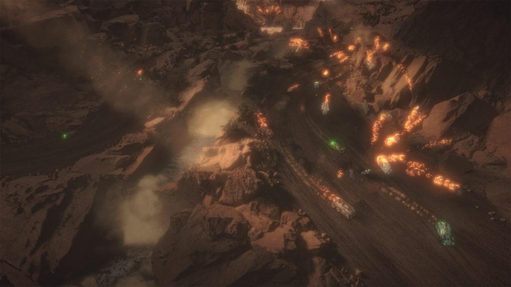Mantis Burn Racing Screenshot Switch