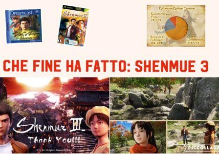 Shenmue 3 immagini varie da kickstarter