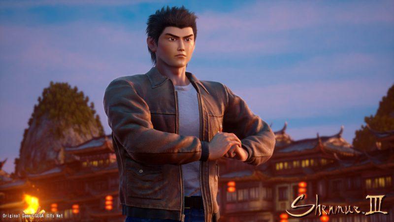 Il protagonista di shenmue 3 in un'immagine di gameplay