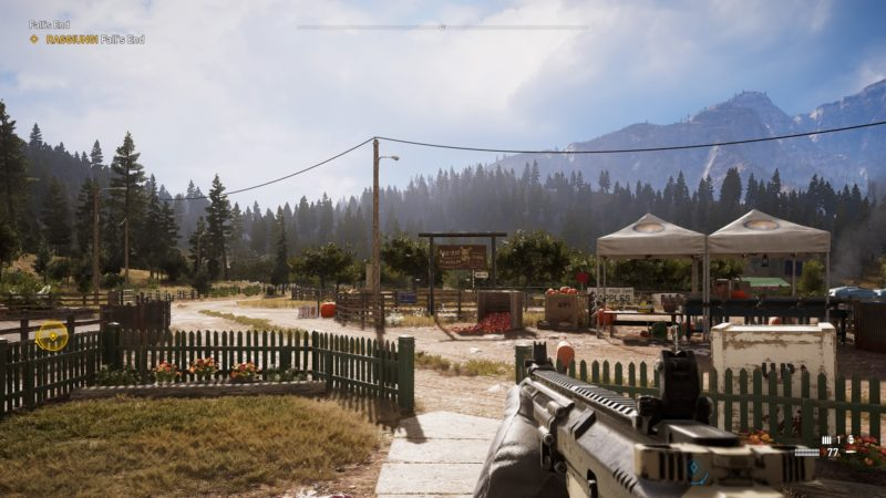 Far Cry 5 gameplay ps4