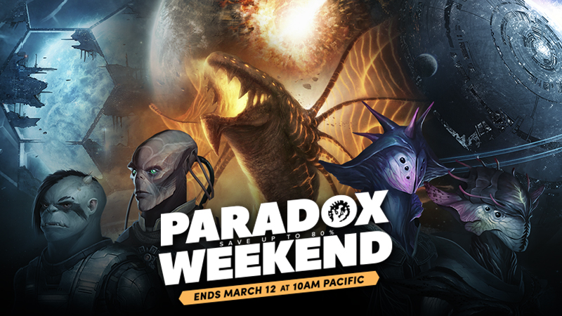 Partito il Paradox Weekend su Humble Store