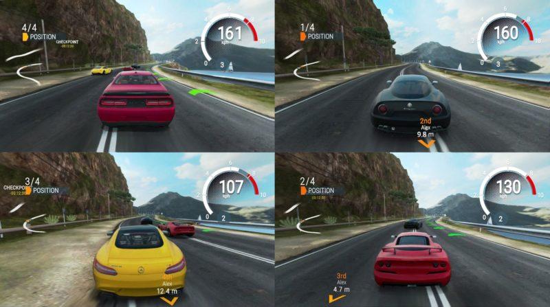 Gear Club Unlimited Splitscreen