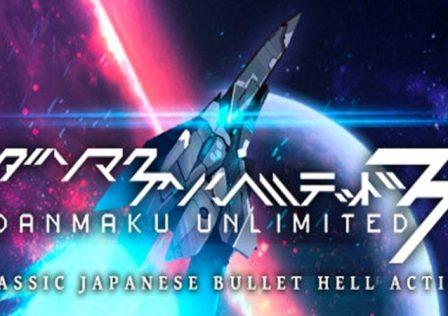 Danmaku Unlimited 3 switch logo