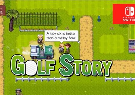 Golf Story Logo Switch