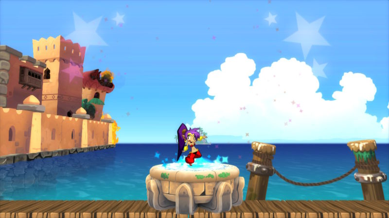 Shantae Half Genie Hero Ultimate Edition gameplay switch