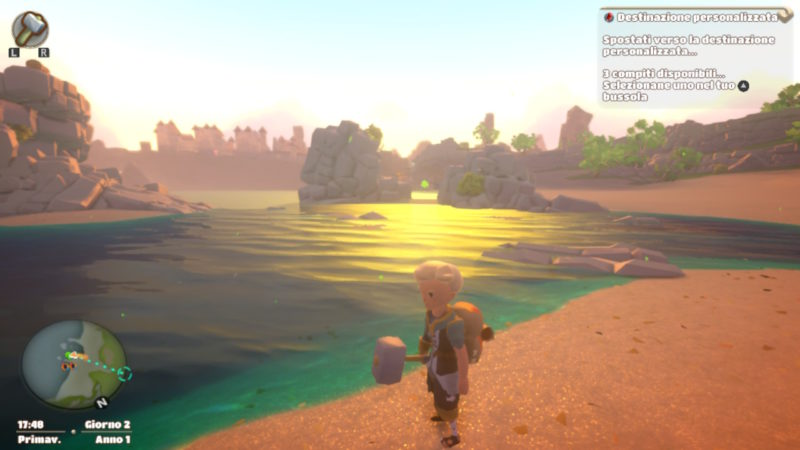 Yonder The Cloud Catcher Chronicles Switch screenshot