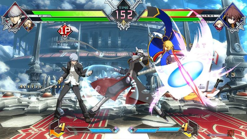 BlazBlue Cross Tag Battle Screenshot