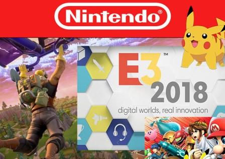 Conferenza Nintendo E3 2018