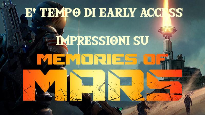 Memories of Mars anteprima