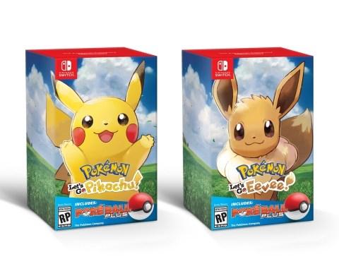 Pokemon Let's Go Bundle Poke Ball Plus