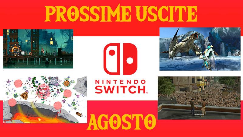 Uscite Switch Agosto 2018