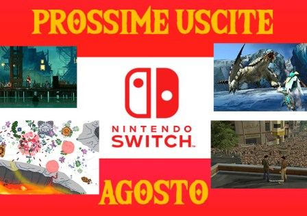 Uscite Switch Agosto 2018