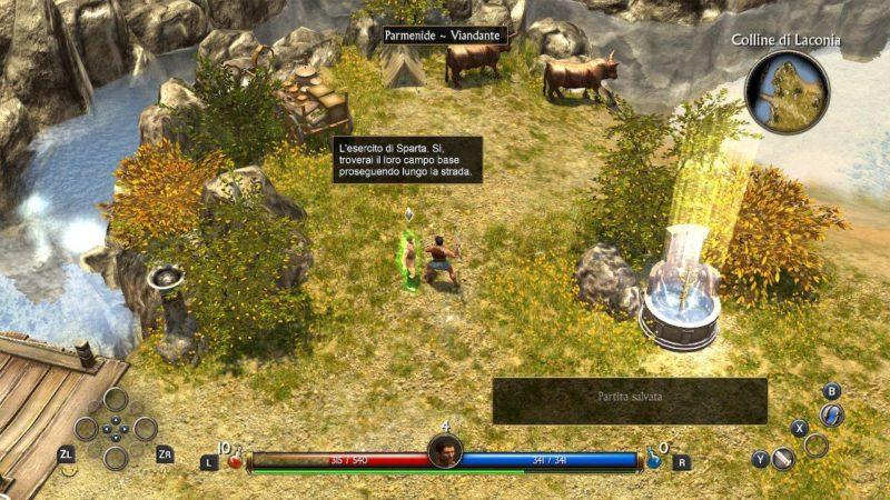 Titan Quest Switch Screenshot
