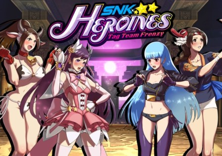 SNK Heroines Tag Team Frenzy LOGO