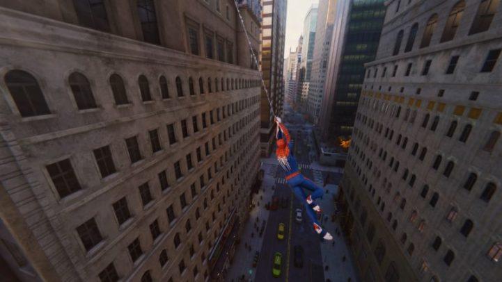 Spider-Man e lo swing