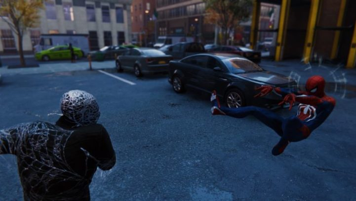 Spider-Man combat system
