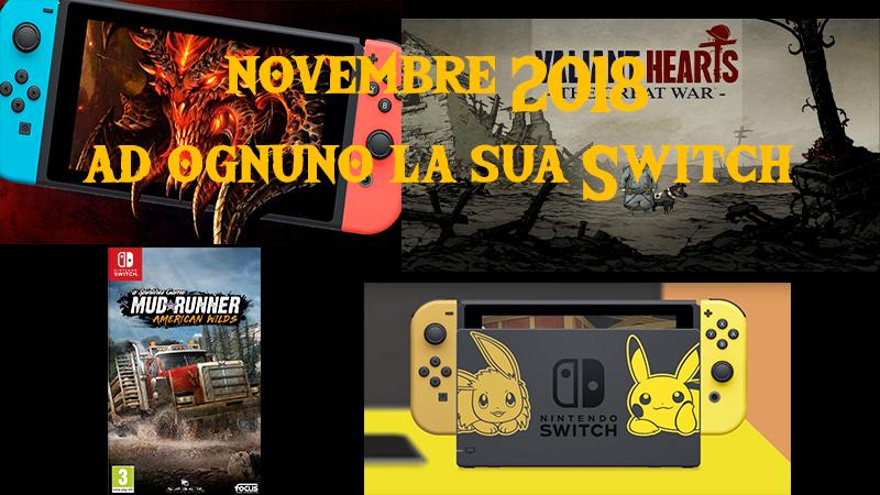 uscite switch novembre 2018