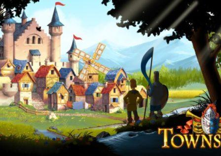 Townsmen LOGO Switch