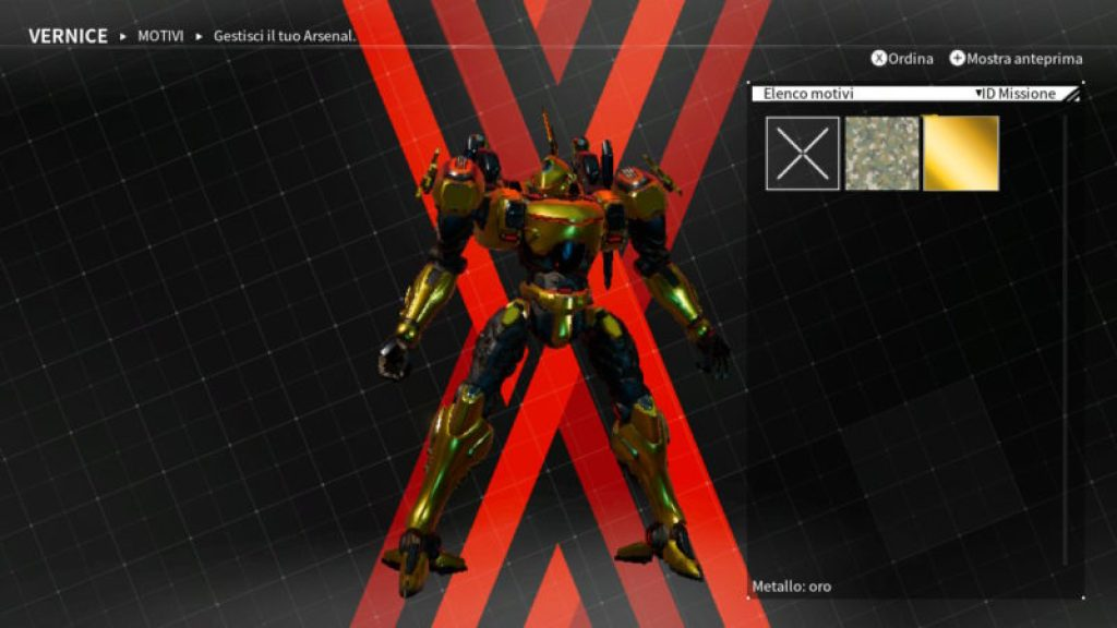 Daemon X Machina Samus