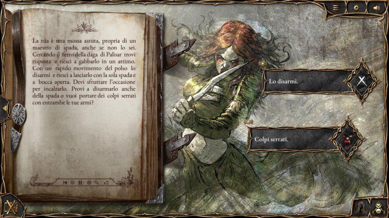 The Ballad Singer: Schermata