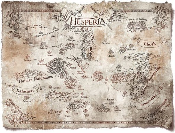 The Ballad Singer: Hesperia