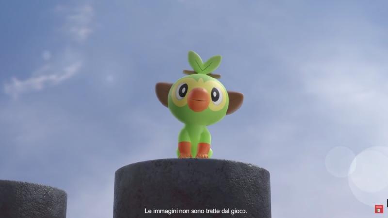 starter erba pokemon spada e scudo