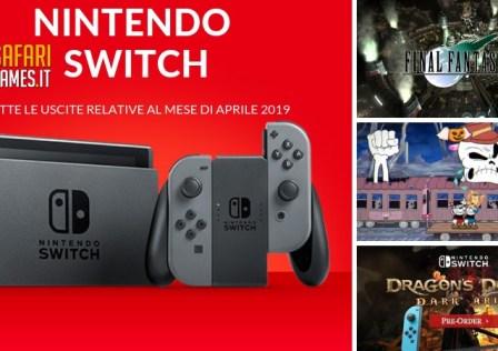 Uscite Switch Aprile 2019