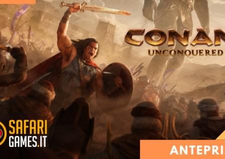 Conan Unconquered Anteprima