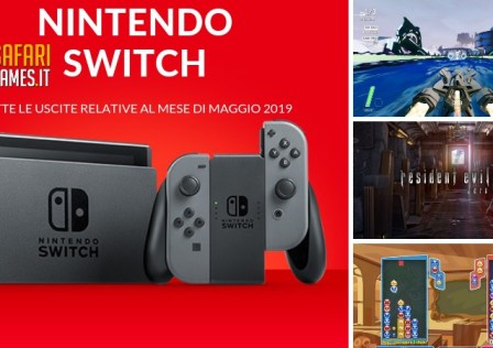Uscite Switch Maggio 2019