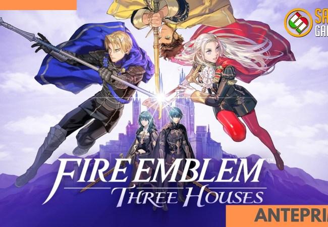 Fire Emblem Three Houses anteprima