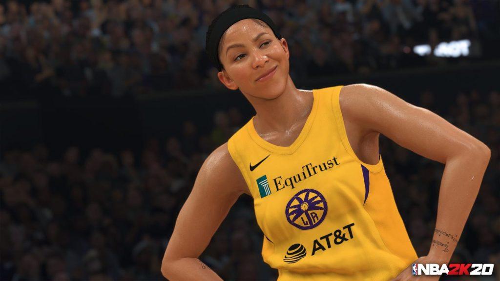NBA 2K20 Candace Parker