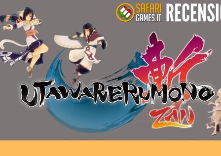 Utawarerumono Zan recensione logo