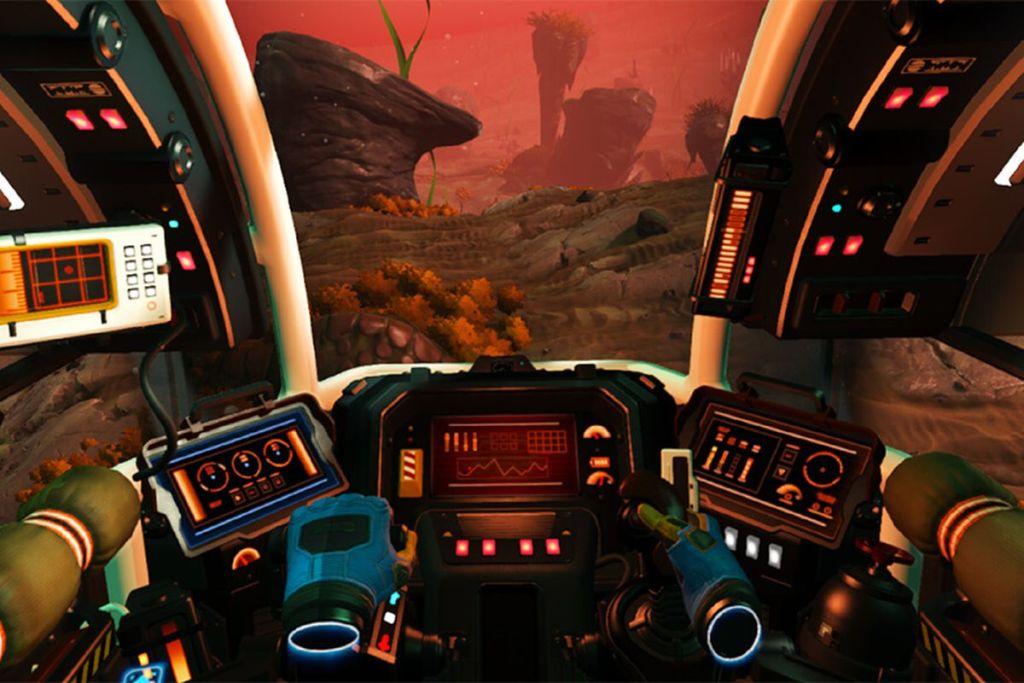 No Mans Sky VR Spaceship